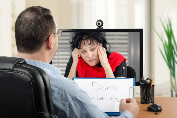 درمان افسردگی به روش آنلاین