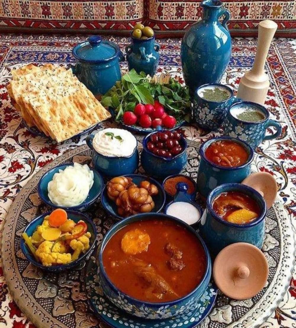تغذیه ایرانیان در دوره هخامنشی