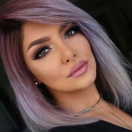 آرایش موی رنگ شده,آرایش مناسب برای رنگ موی قرمز,آرایش مناسب برای رنگ موی مشکی ,آرایش موی رنگ شده,colored hair makeup,
